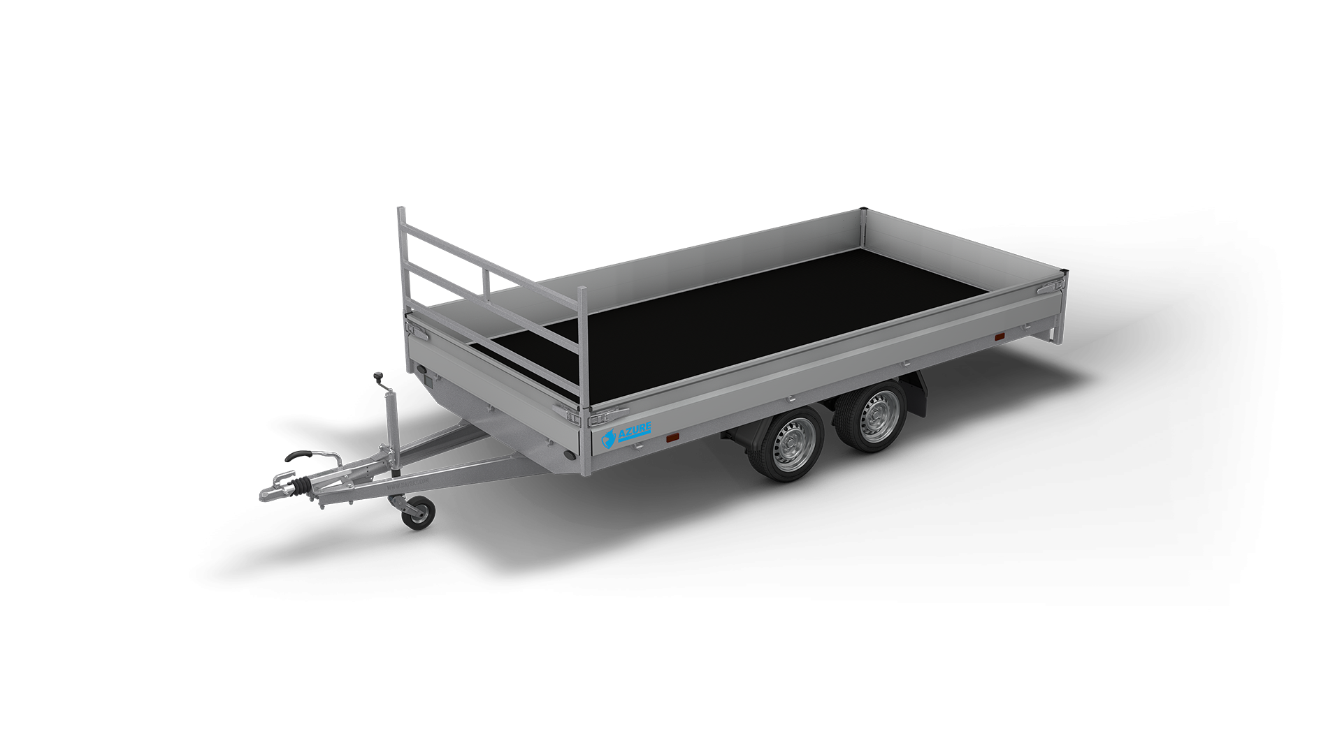 HAPERT trailer AZURE H-2 flatbed