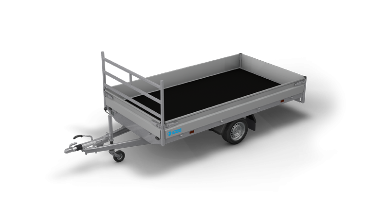 Azure H-1 - Enkelasser open aanhangwagen of plateauwagen