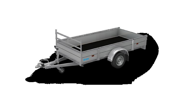 Azure L-1 - Enkelasser open aanhangwagen