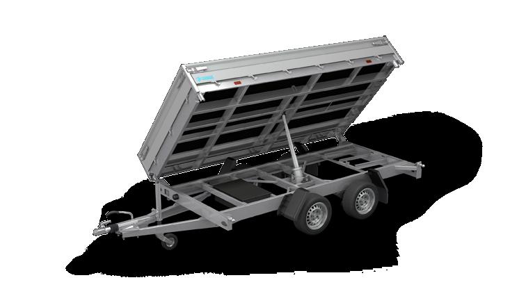 Cobalt HM - Tandemasser driezijdige kipper aanhangwagen