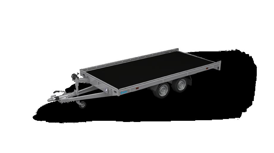 Indigo HF - Kippbare autotransportanhänger