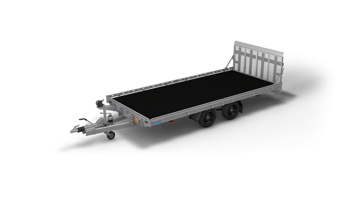 Indigo T - Kippbare autotransportanhaenger