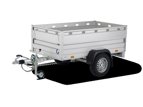 Bagagewagen enkelasser Basic Cover Small
