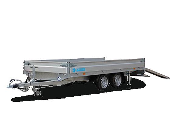 Azure h-2 - multi tandemasser open aanhangwagen