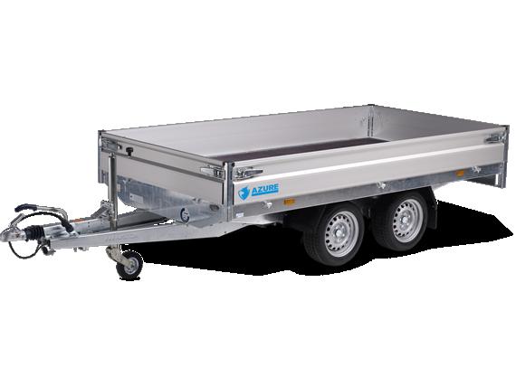 Azure h-2 - tandemasser open aanhangwagen