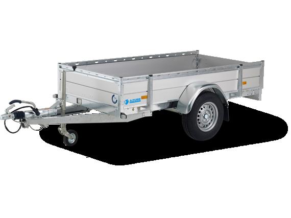 AZURE L-1  Aluminium Einachser Offener PKW Anhänger