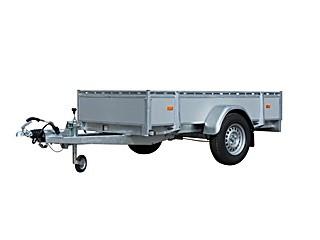 Azure L-1 Aluminium - Enkelasser bakwagen
