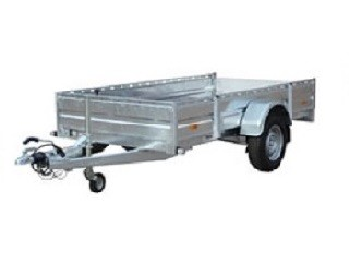 AZURE L-1 Stahl Einachser Offener PKW Anhänger