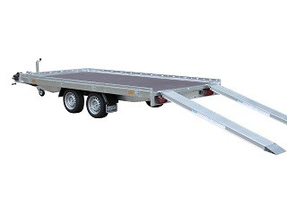 Indigo HF-2 Transporter - Niet kantelbare tandemasser oprijwagen