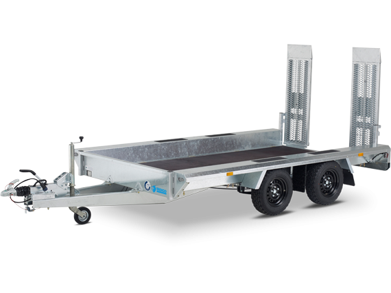 Indigo LF-2-2016 - Niet kantelbare tandemasser oprijwagen