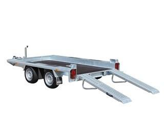 Indigo LF-2 Transporter - Niet kantelbare tandemasser oprijwagen