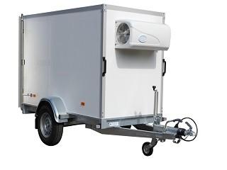 Sapphire KW-1 - Koelwagen enkelasser aanhanger