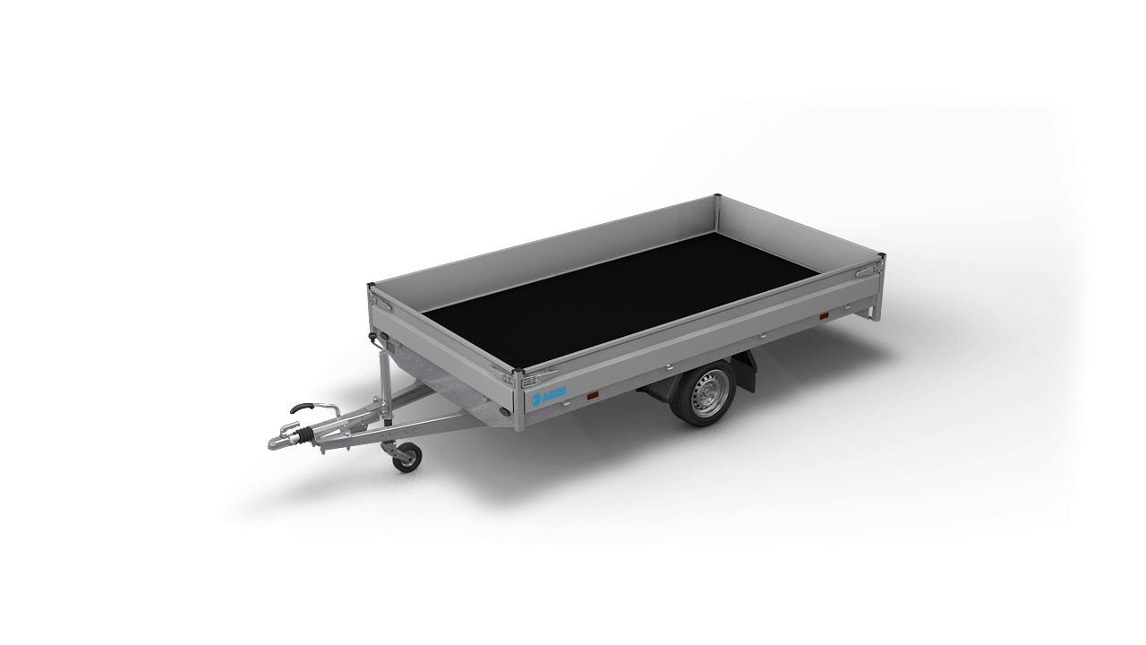 HAPERT trailer AZURE H-1 flatbed