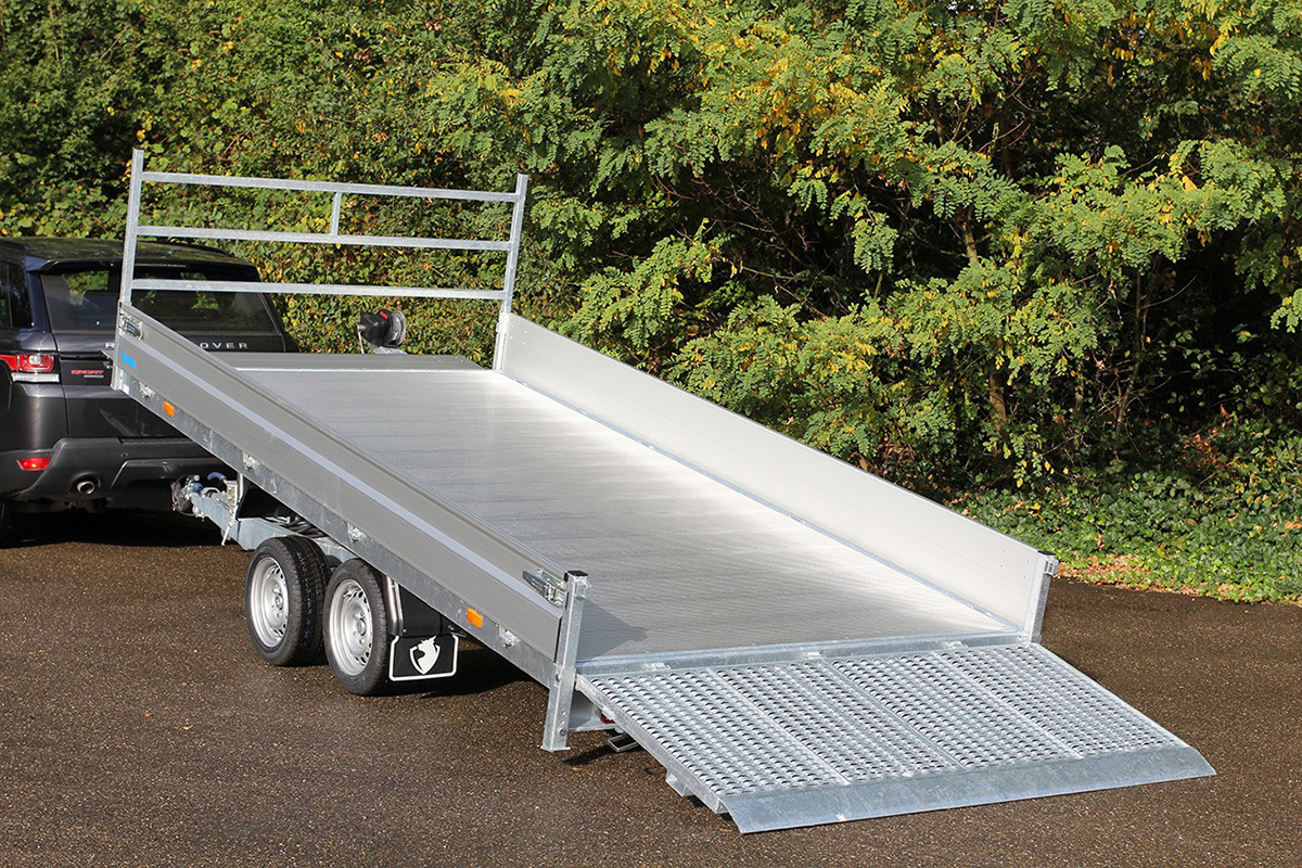 Drive-on ramps