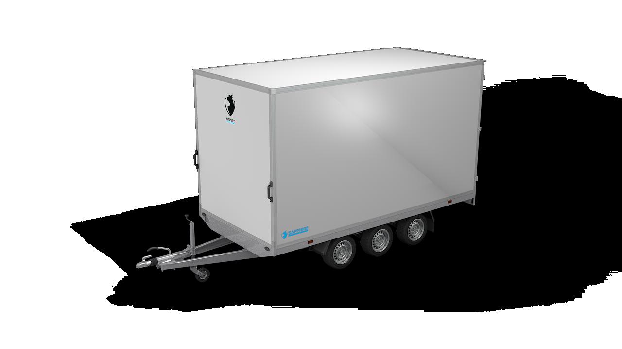 HAPERT box van trailer SAPPHIRE H-3
