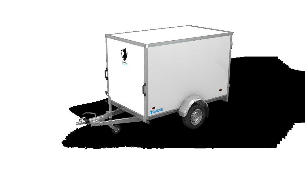 HAPERT box van trailer SAPPHIRE L-1