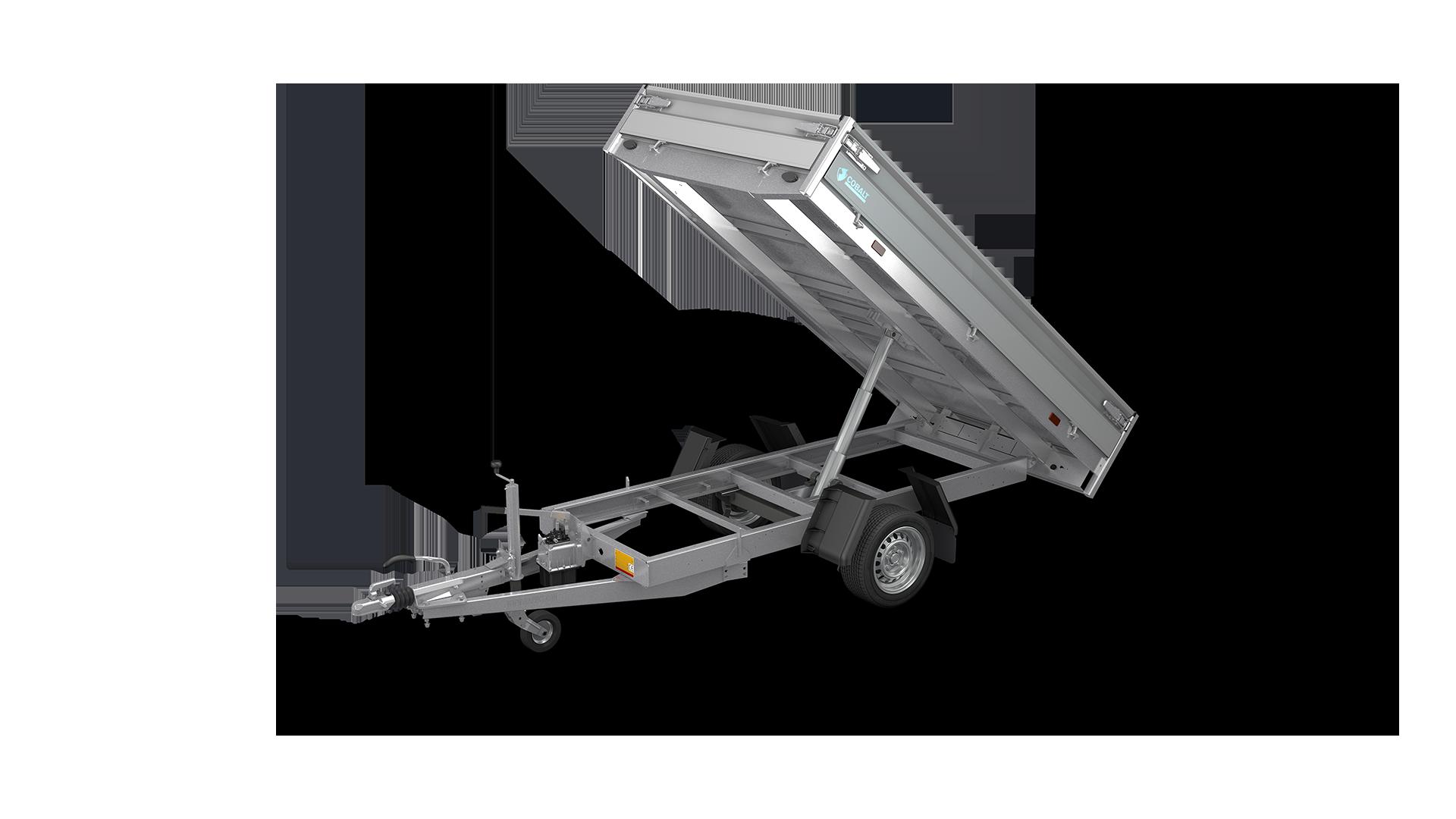 HAPERT trailer COBALT HB-1 backward tipper