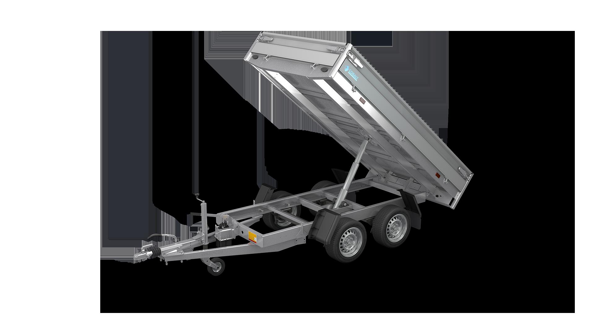 HAPERT trailer COBALT HB-2 backward tipper