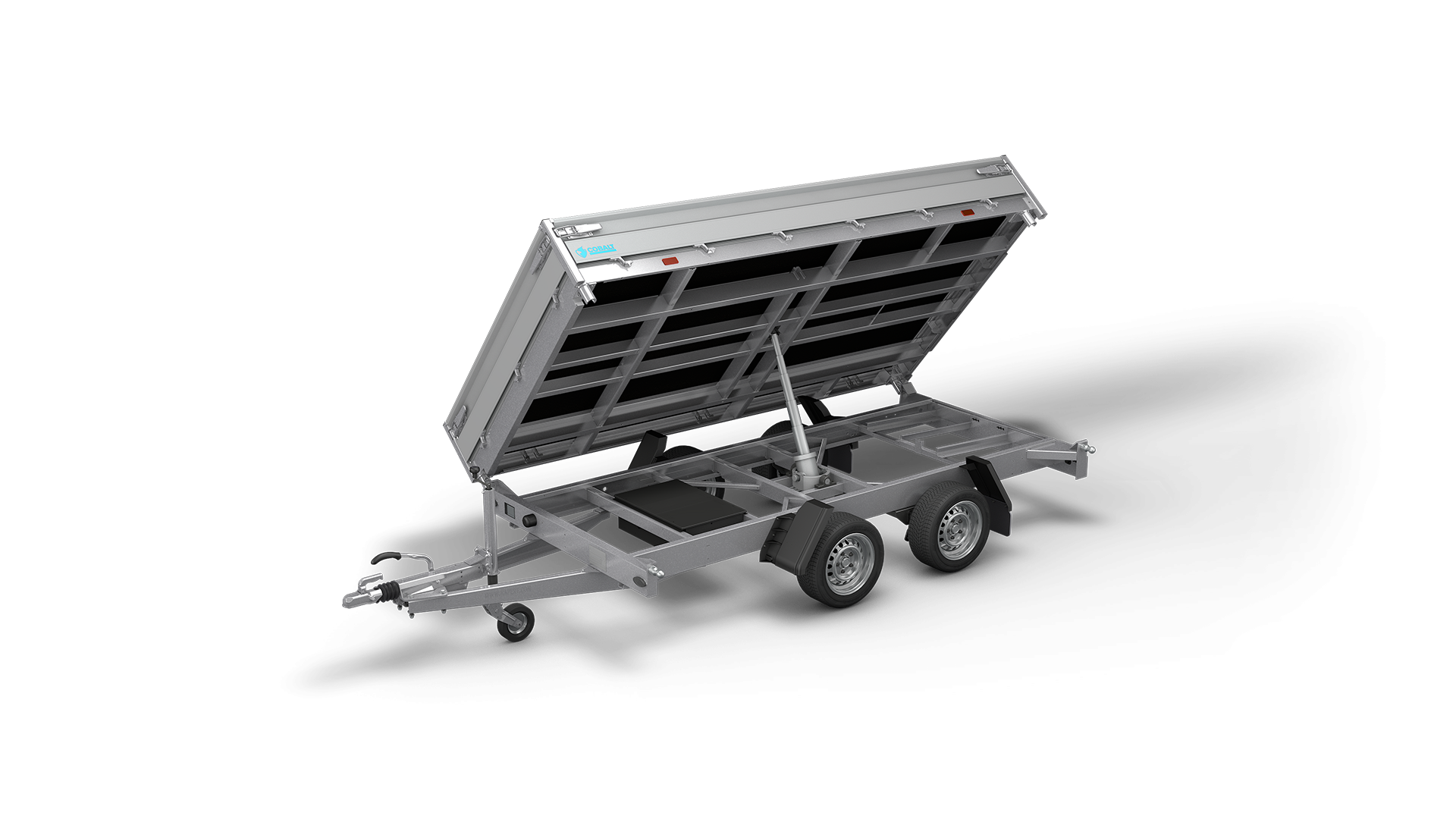 HAPERT trailer COBALT HM-2 three-sided tipper