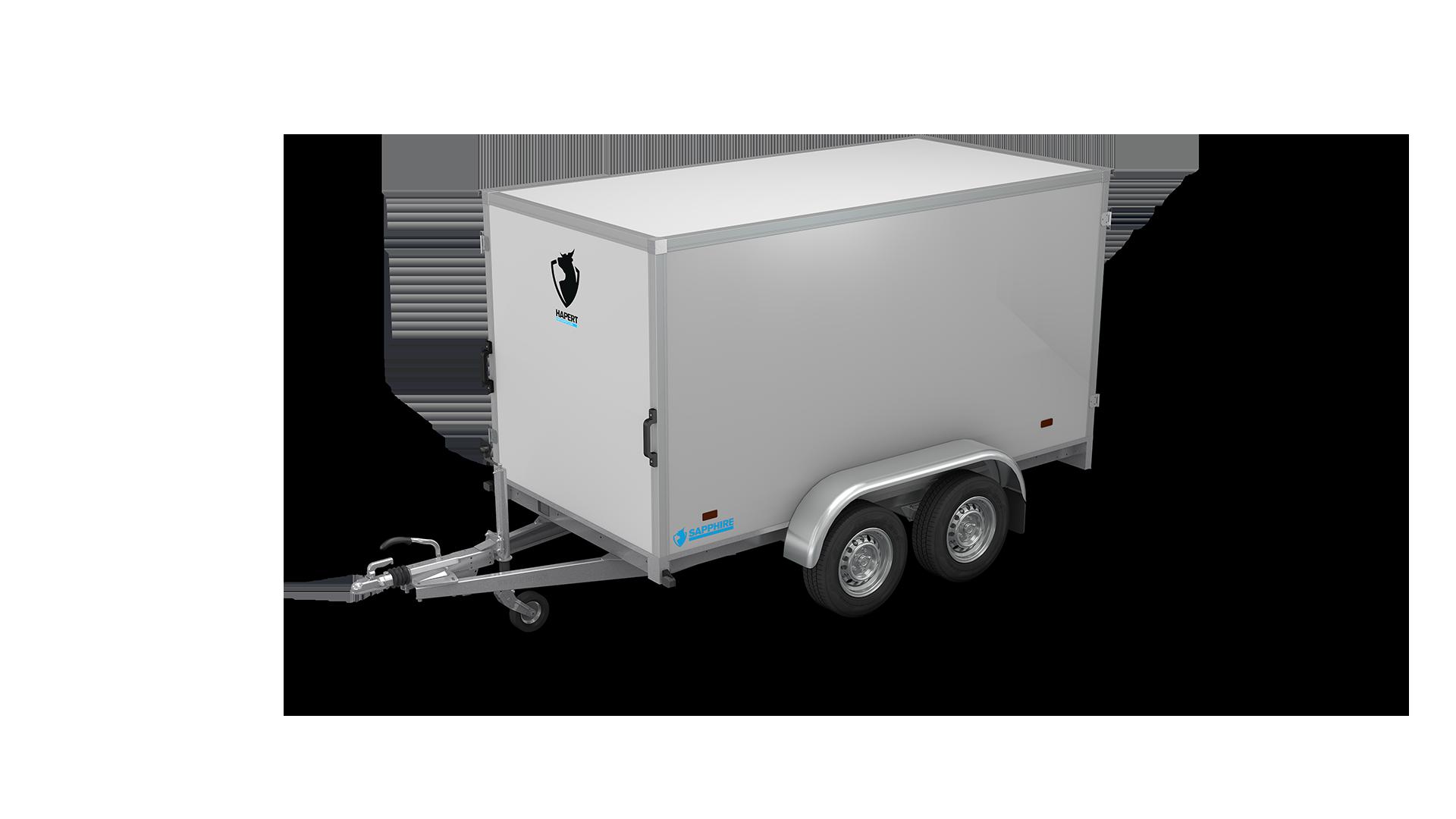 HAPERT box van trailer SAPPHIRE L-2