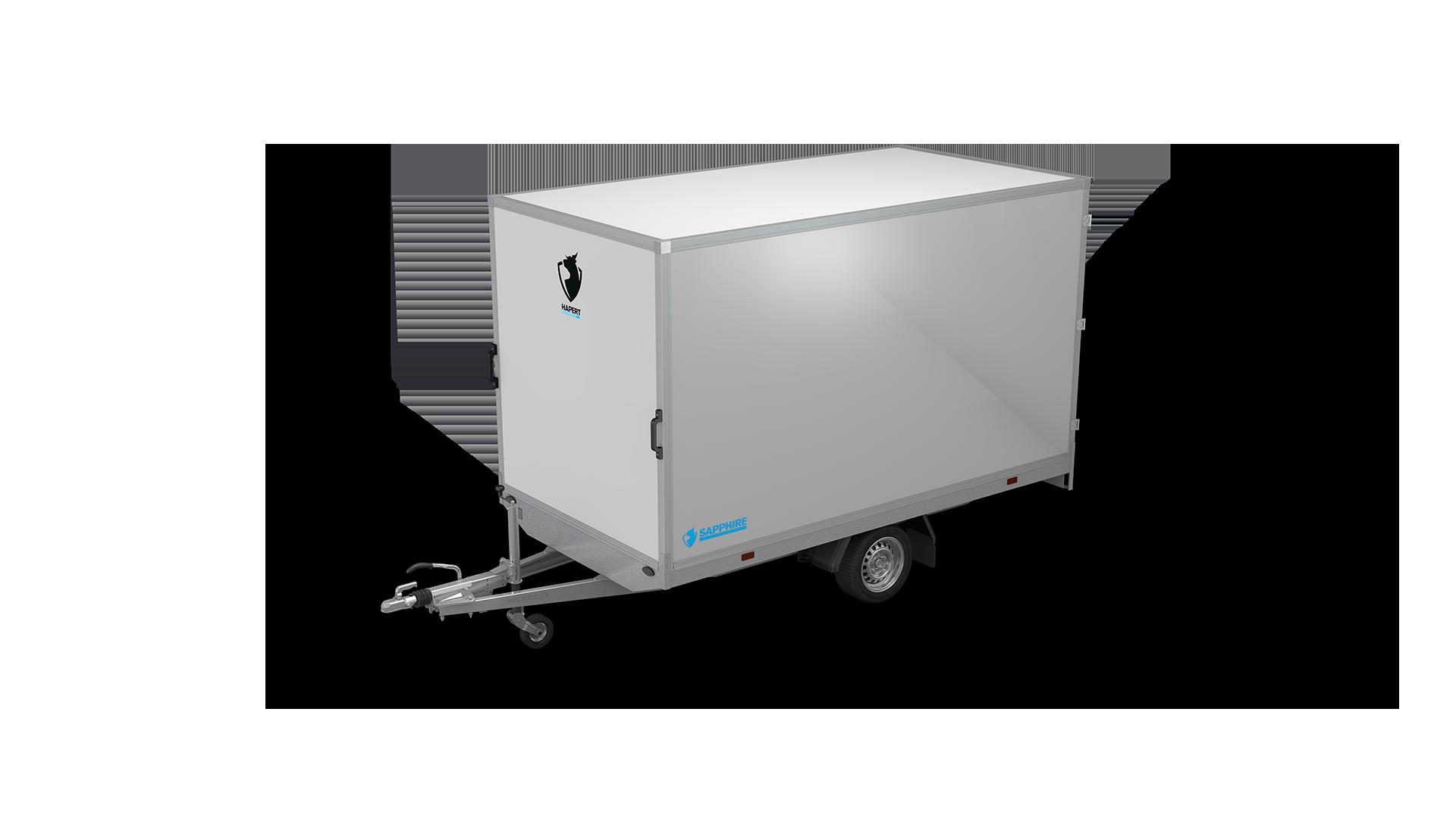 HAPERT box van trailer SAPPHIRE H-1