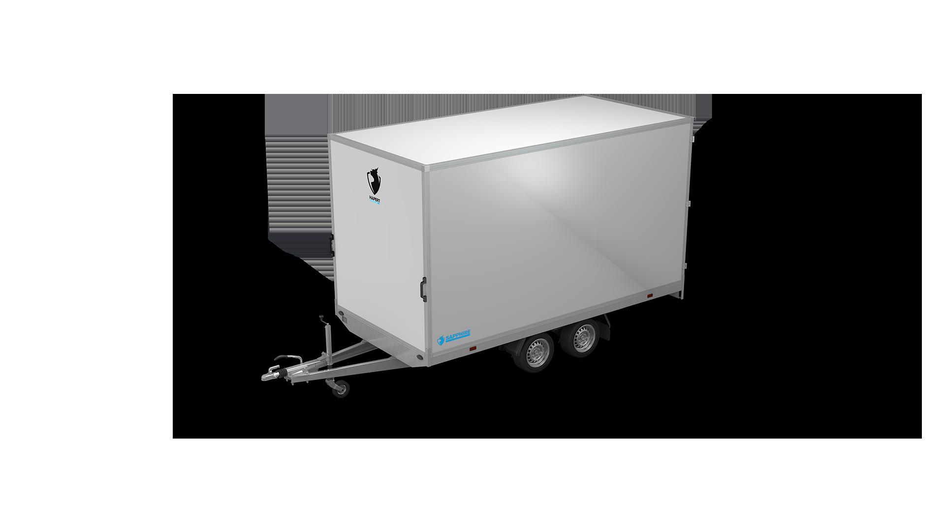 HAPERT box van trailer SAPPHIRE H-2