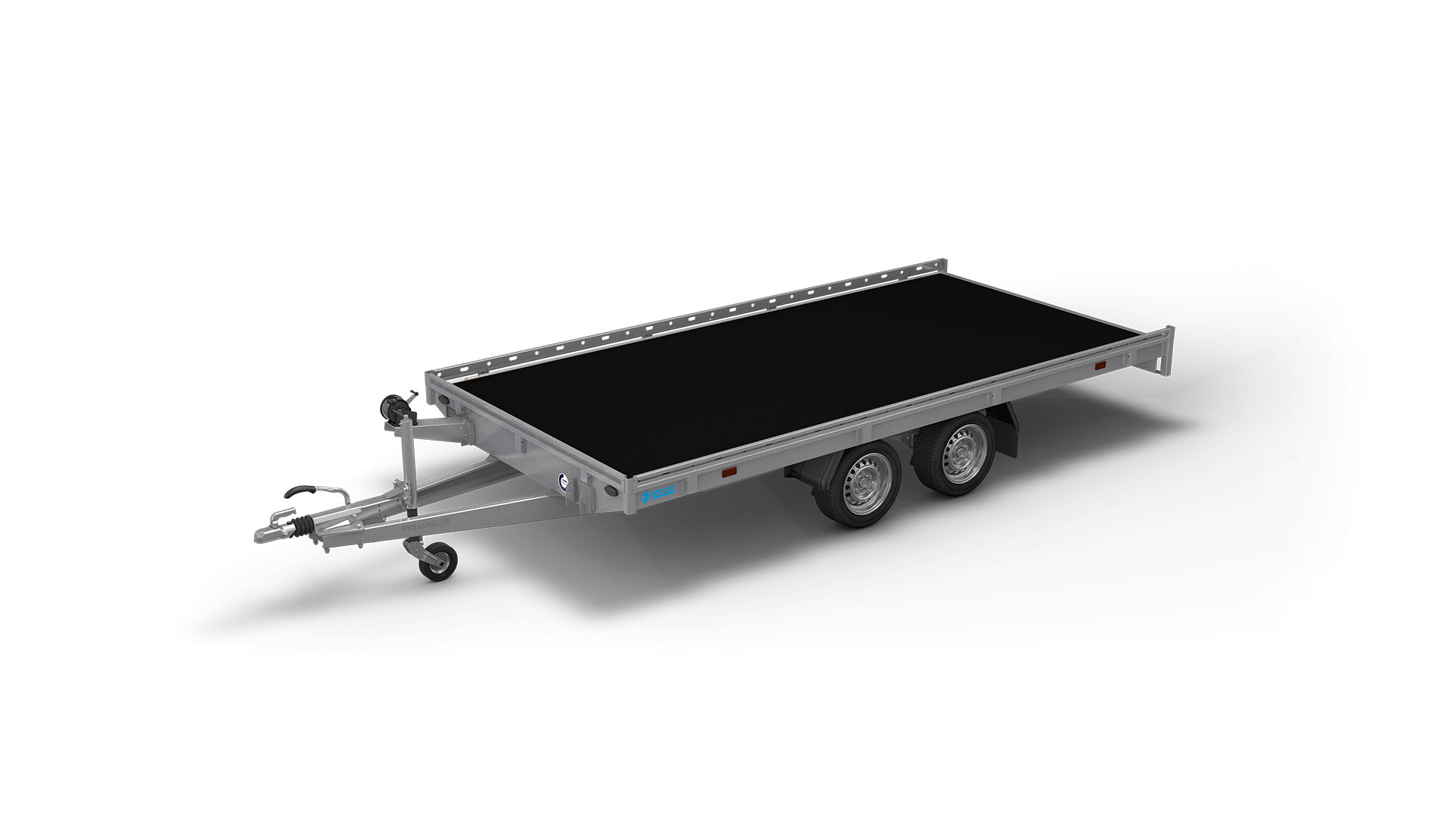 HAPERT transport trailer INDIGO HF-2 non-tilting car transporter
