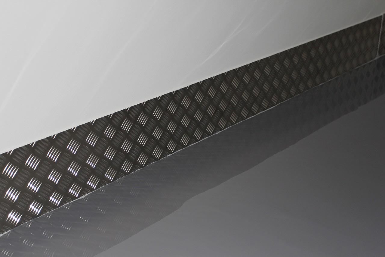 Aluminium stootranden