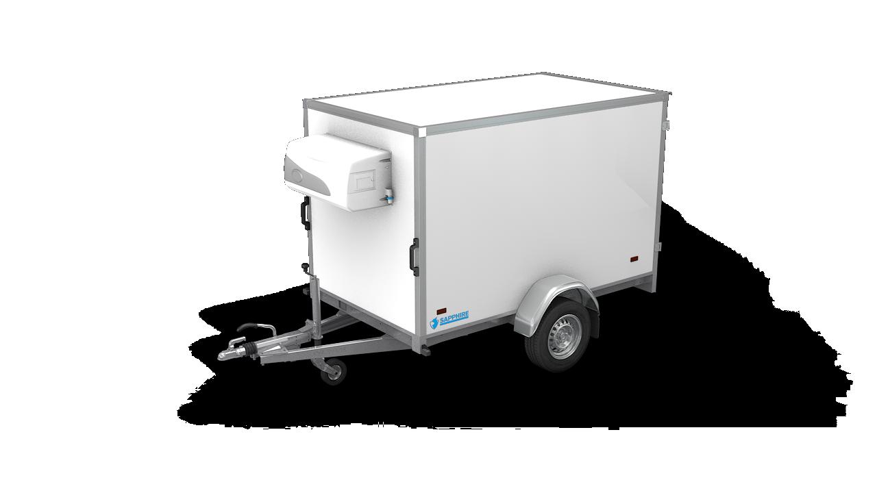 HAPERT gesloten aanhangwagen SAPPHIRE L-1 koelwagen